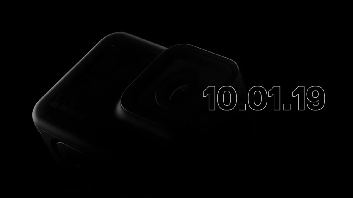 La GoPro Hero 8 sera présentée le 1er octobre en live