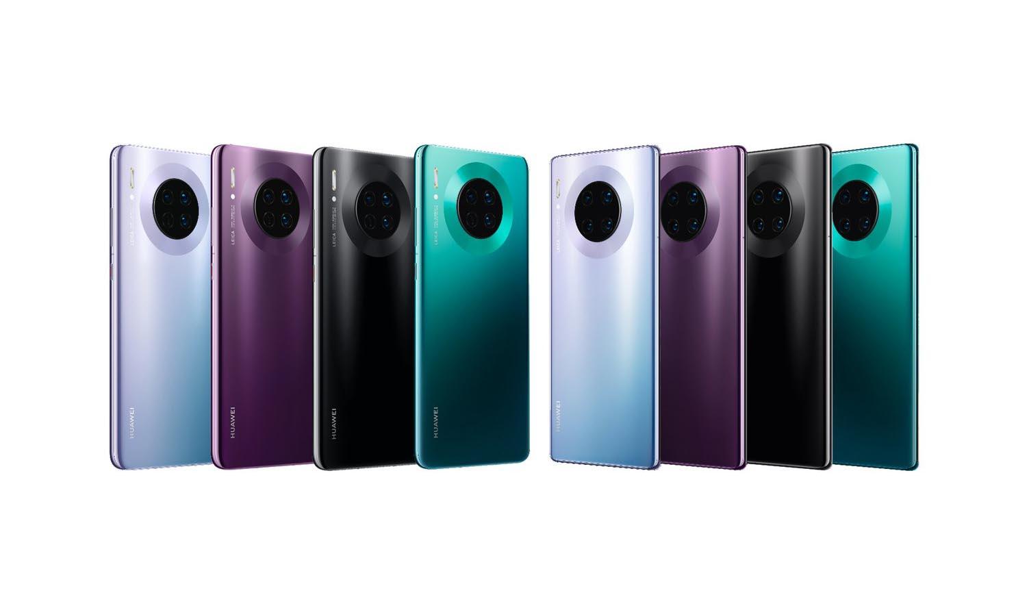 Huawei Mate 30 Et Mate 30 Pro Officialisés Design