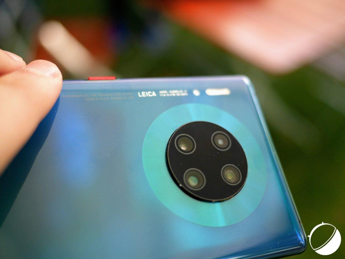 Le Huawei Mate 30 Pro.