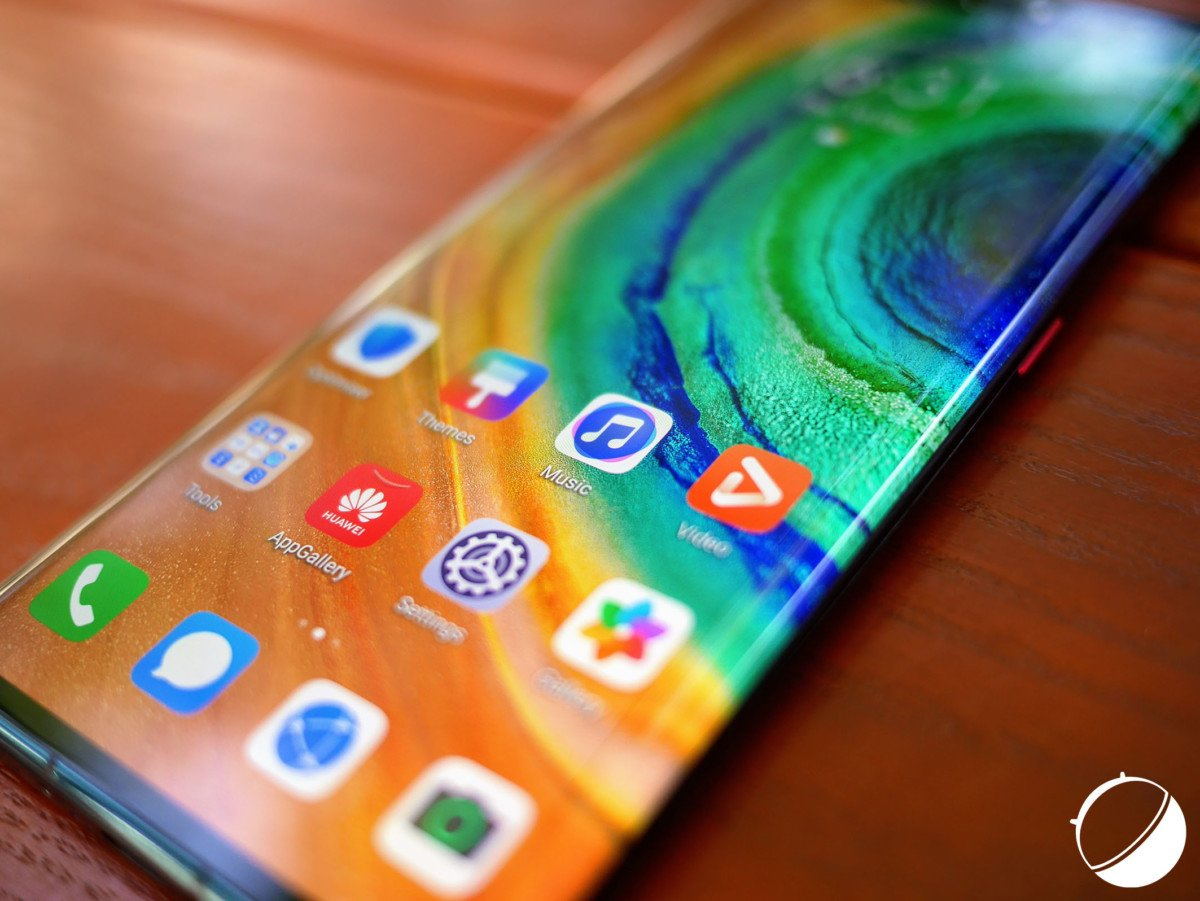 L'écran du Huawei Mate 30 Pro