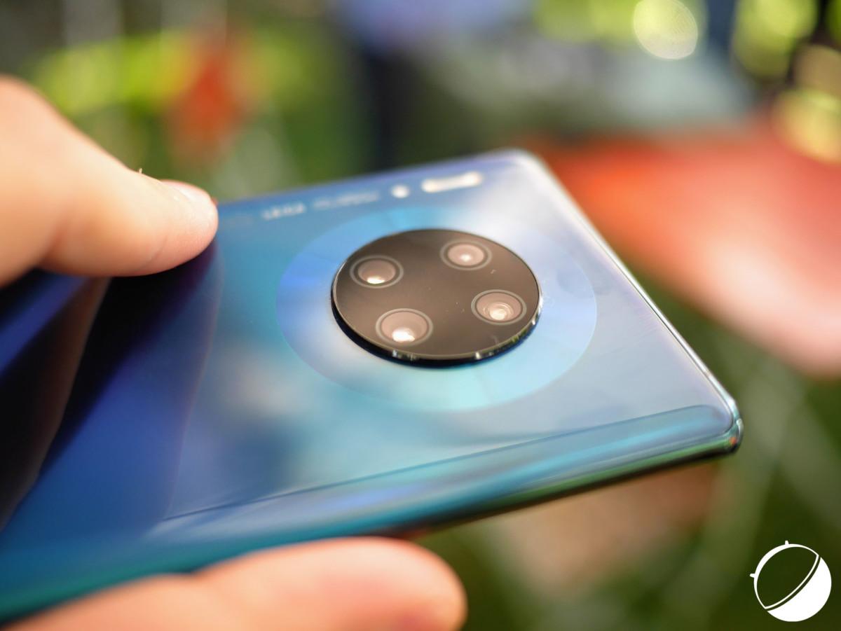 Le module photo et vidéo du Huawei Mate 30 Pro