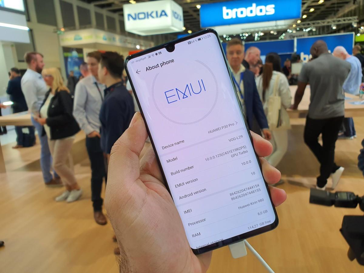 Les HuaweiP30 et P30 Pro reçoivent bien les mises à jour poussées par Google