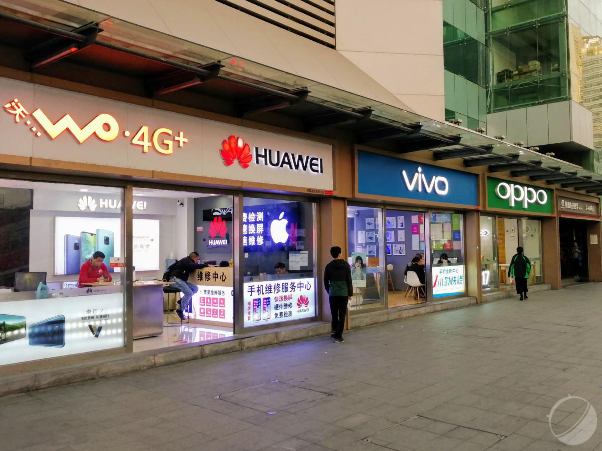 Le quartier de Huaqiangbei à Shenzhen