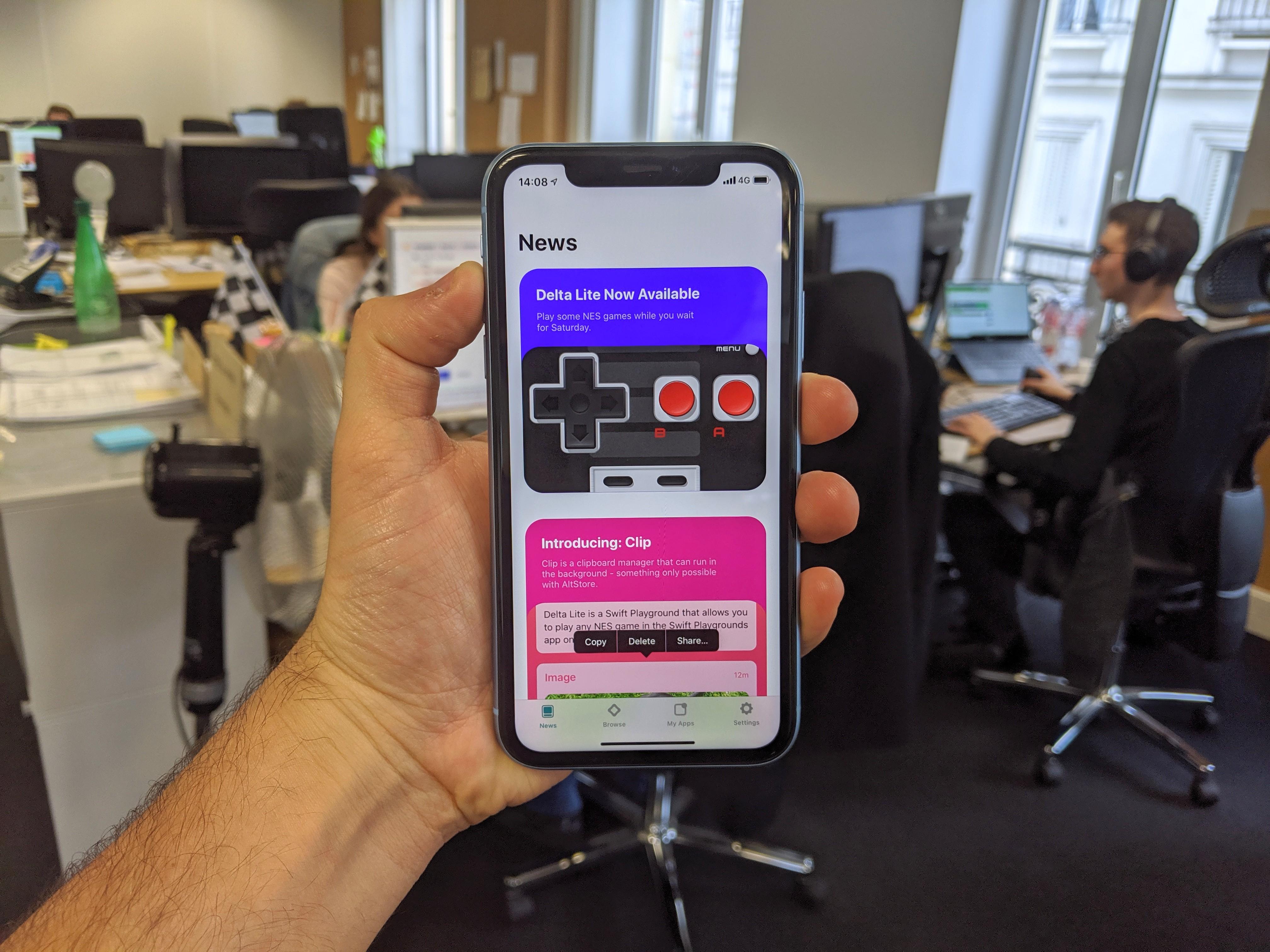 Nous avons testé l'AltStore, l'alternative à l'App Store