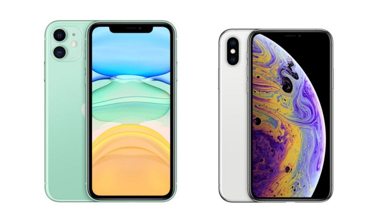 foto de iPhone 11 vs iPhone XS : au même prix, lequel choisir ?