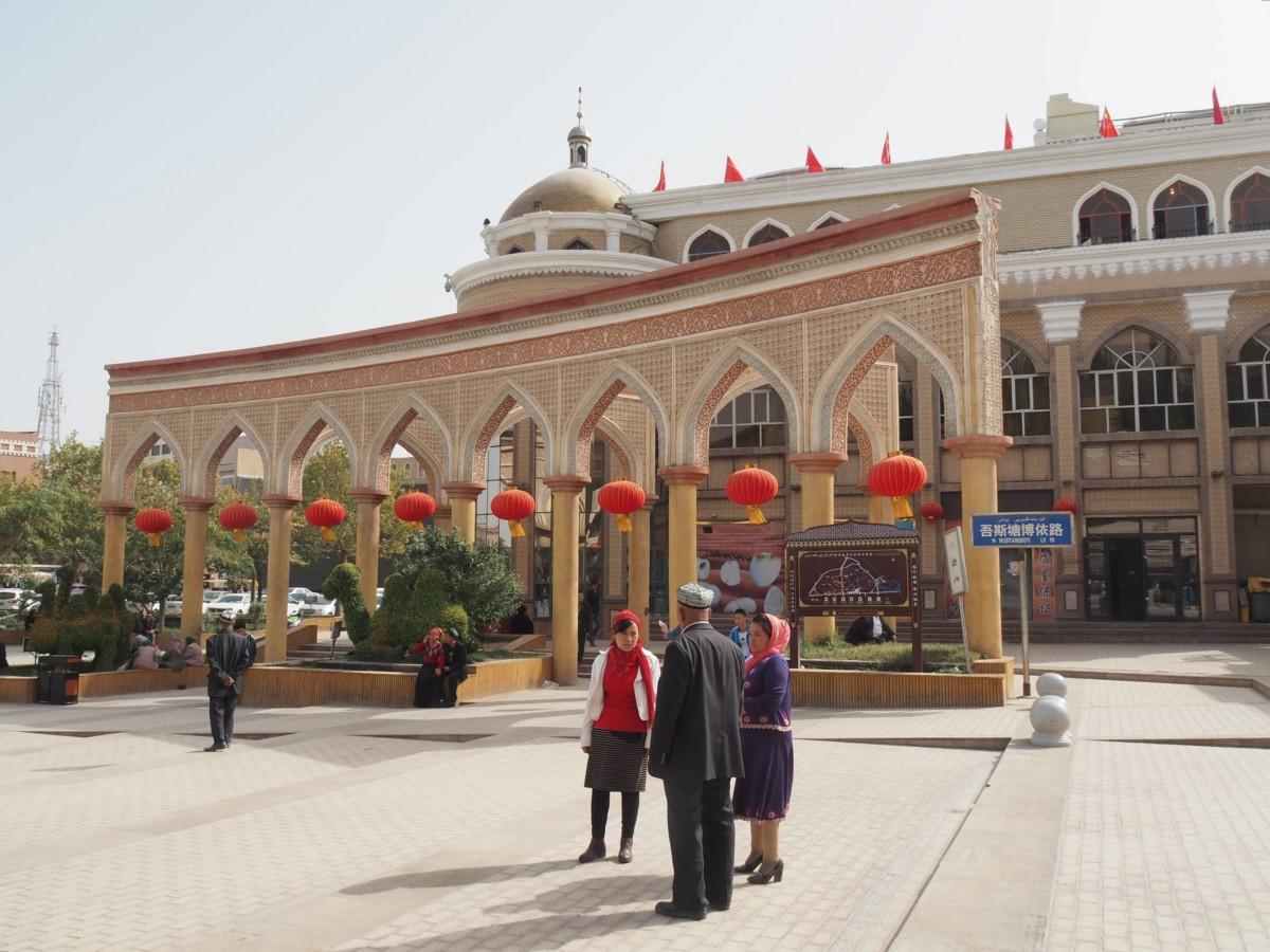 Kashgar, deuxième ville du Xinjiang, la province à majorité ouïghoure de l'ouest de la Chine. Crédit: Laika ac//Wikimédia Commons