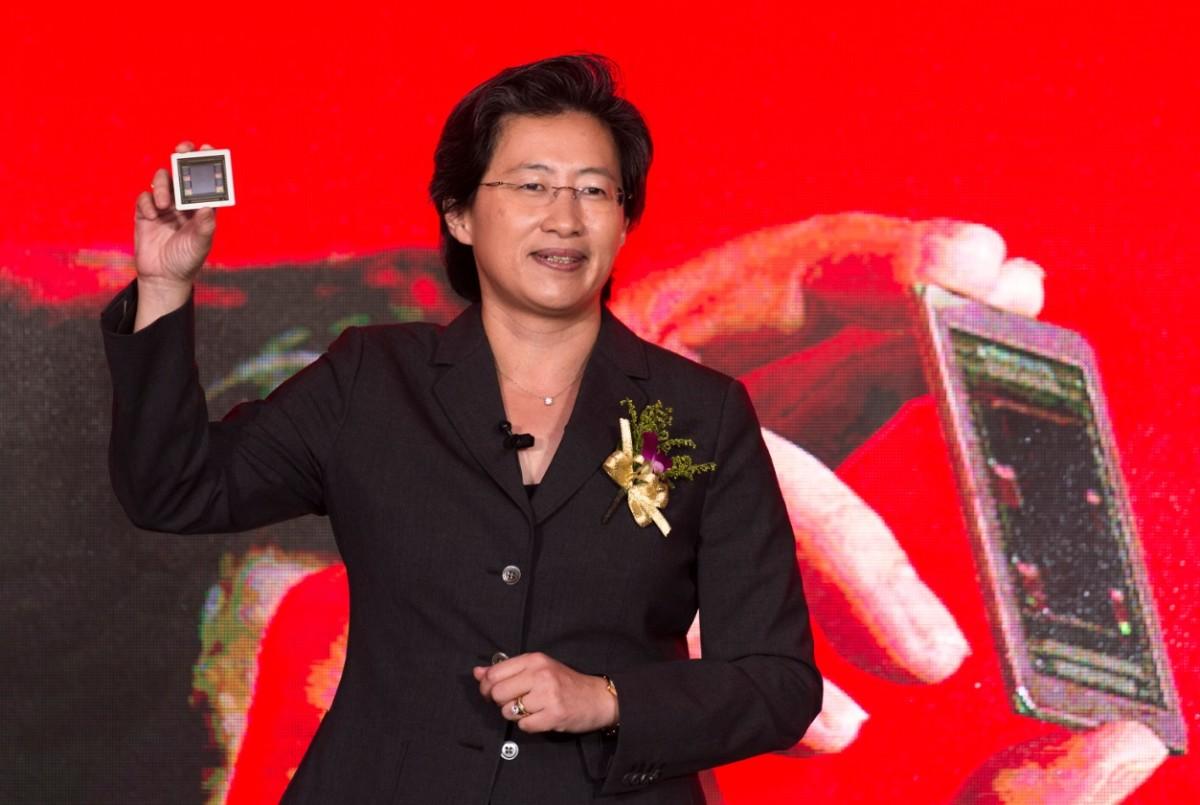 Lisa Su, Présidente d'AMD, en juin 2015 / Crédit : Wikimedia