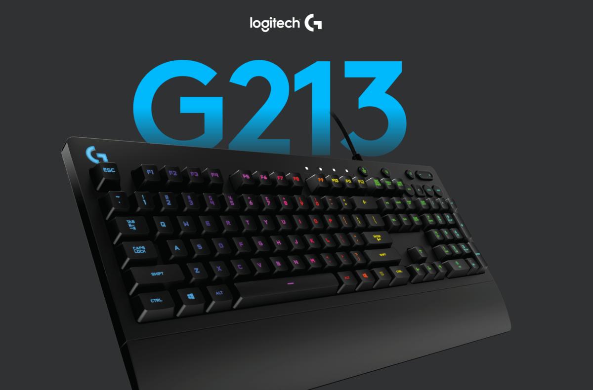 Le clavier gaming Logitech G213 Prodigy à seulement 39 euros sur Amazon