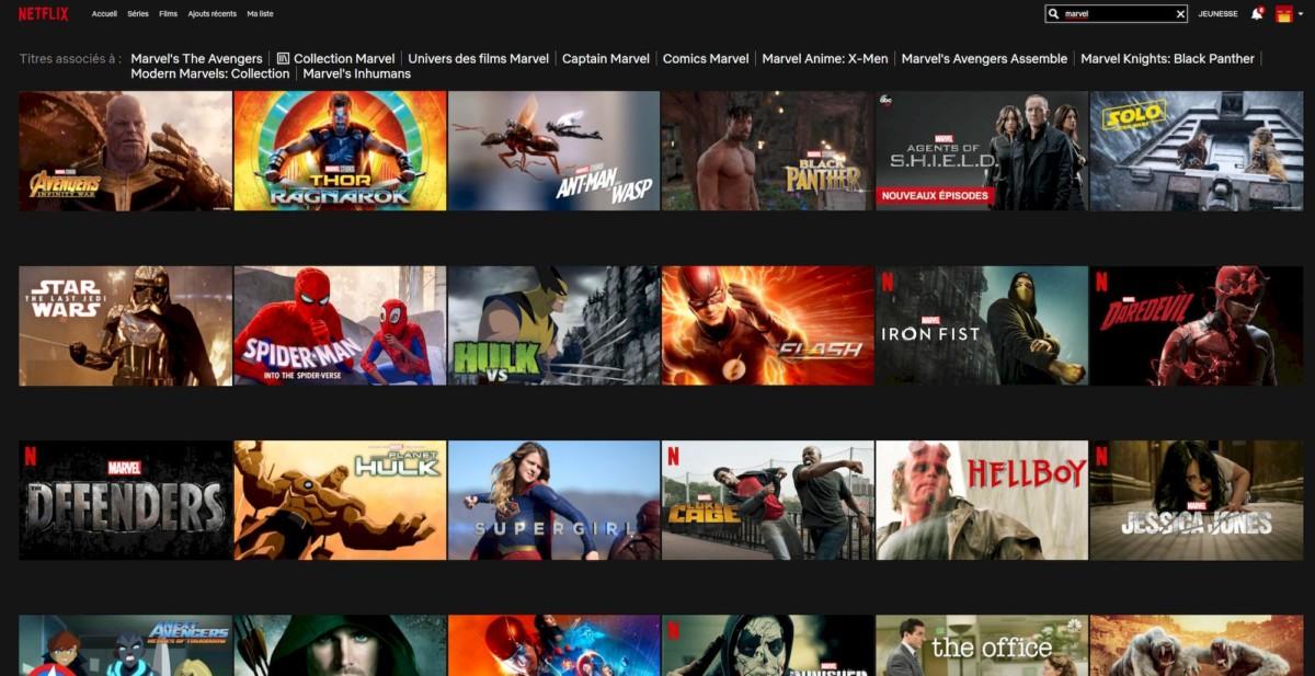 Le catalogue américain de Netflix et ses nombreux films Disney s'offrent à vous avec NordVPN.