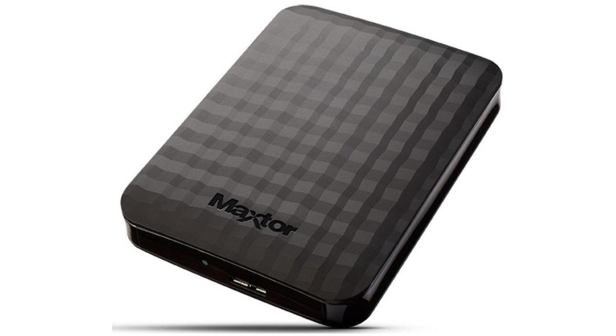 Stockez vos trucs dans le disque externe Maxtor M3 4 To à 92 euros