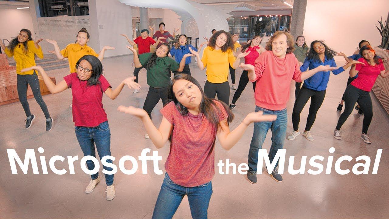 Microsoft lance sa comédie musicale et se moque de Vista et Windows Phone