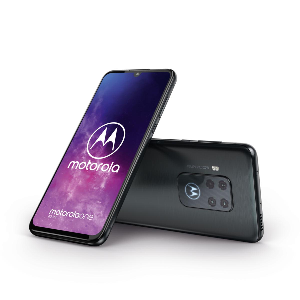 Les Motorola One Zoom et e6 Plus mettent l'accent sur la photo à l'IFA 2019