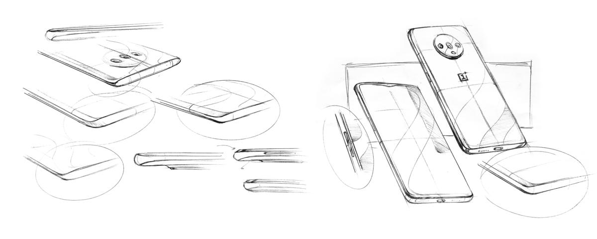 OnePlus 7T : la marque confirme officiellement le dos du smartphone