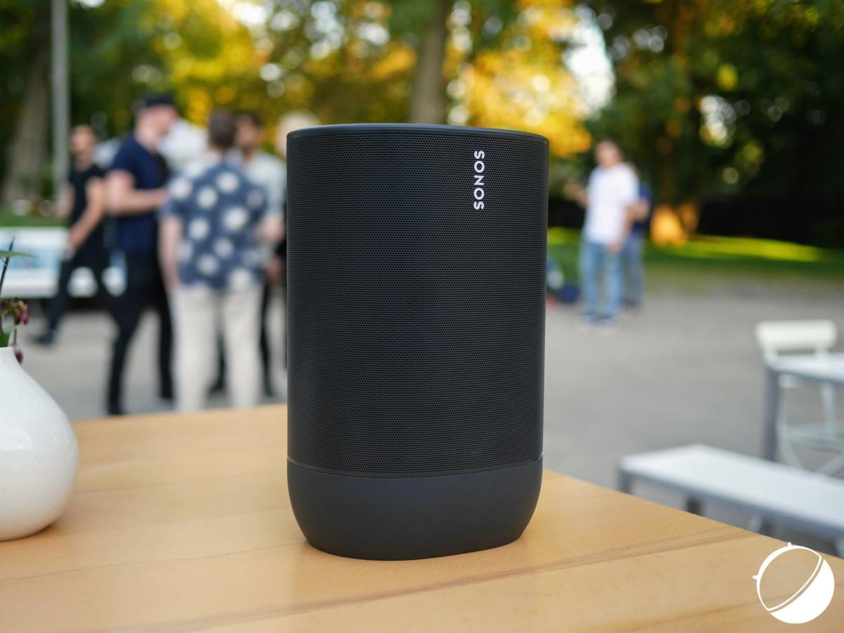 L'enceinte Move de Sonos, lancée à l'IFA 2019