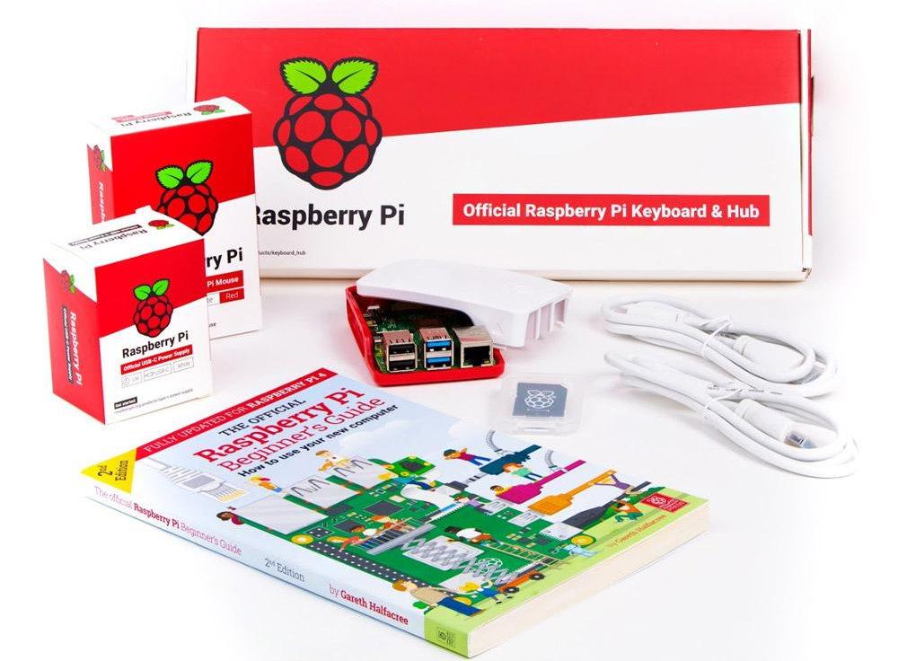 Le Desktop Kit du Raspberry Pi 4 : il ne manque qu'un écran.