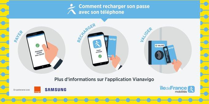 Navigo : acheter, recharger et valider depuis un smartphone Android est désormais possible