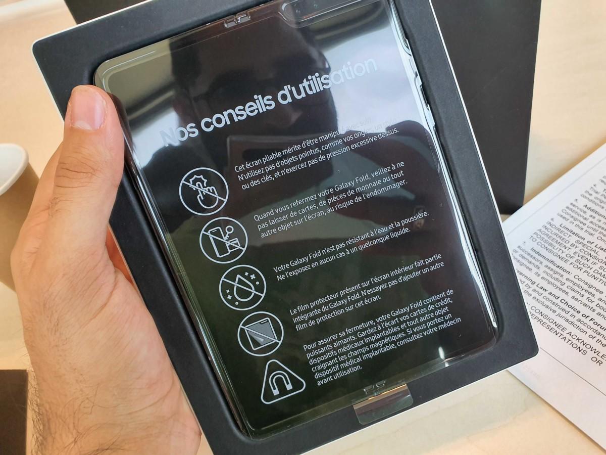 Samsung Galaxy Fold : pas le choix, vous devrez aller en magasin pour l'acheter