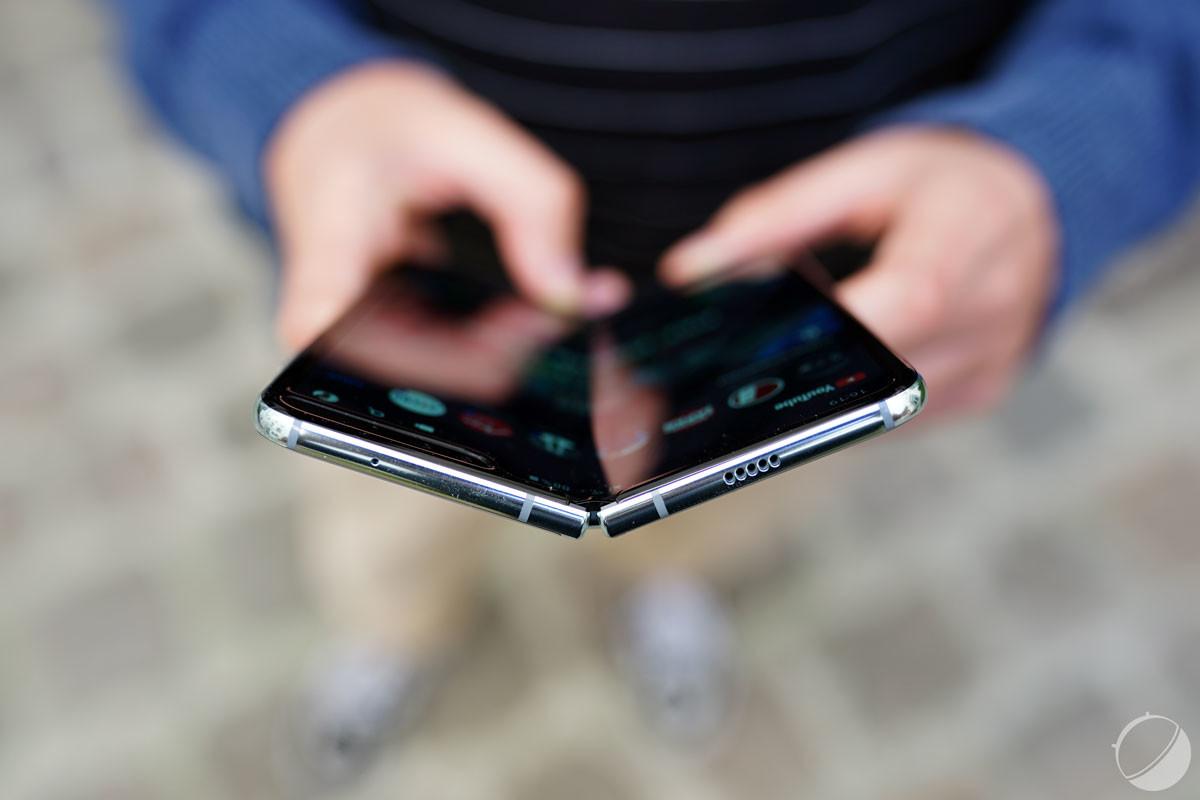 Le Galaxy Fold sorti en fin d'année 2019