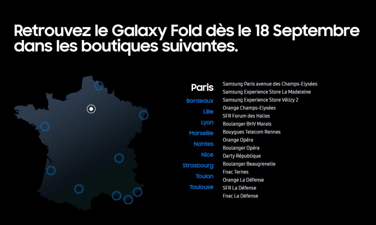 15 des 30 magasins sont situés dans Paris et sa région