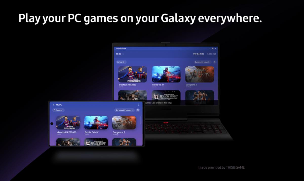 Des jeux PC sur le Samsung Galaxy Note 10 : PlayGalaxy Link est disponible en France en bêta