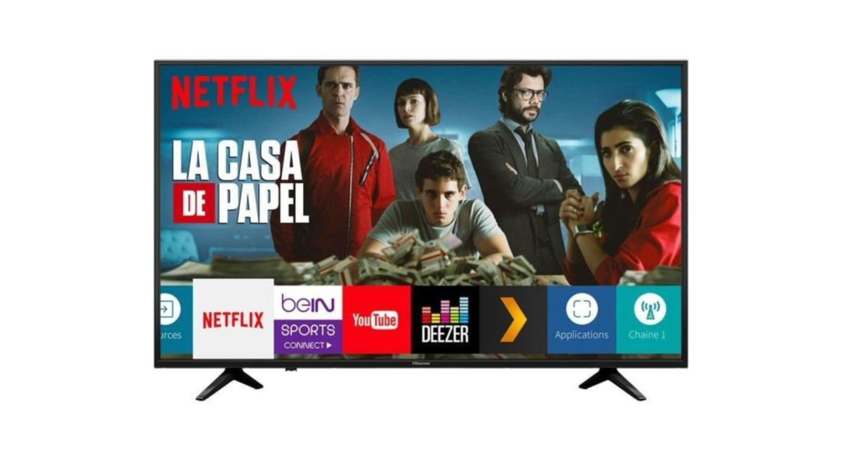 🔥 French Days 2019 : TV HISENSE 4K UHD de 50 pouces à 299 euros seulement