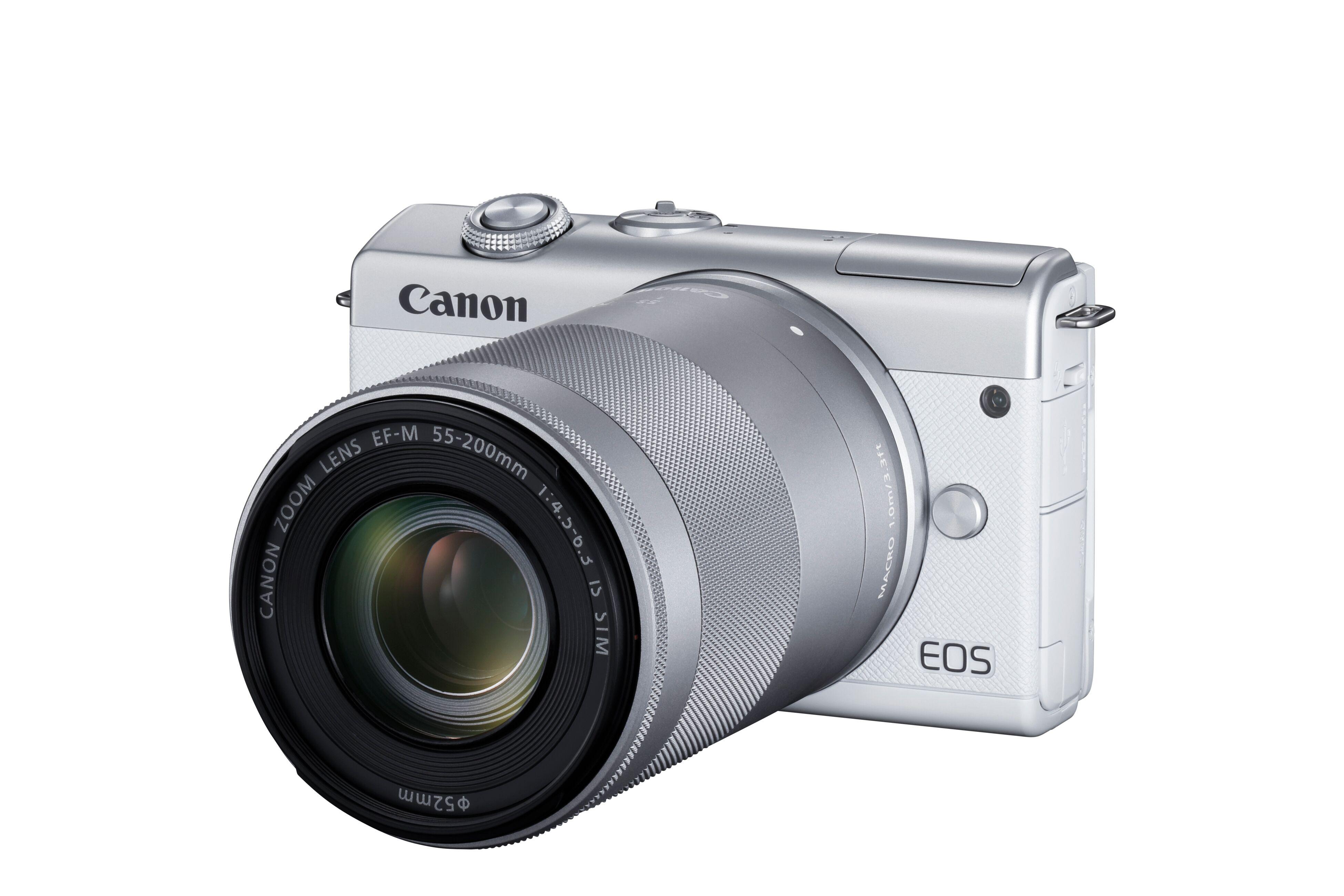 eos m200 canon renouvelle son appareil photo hybride petit prix