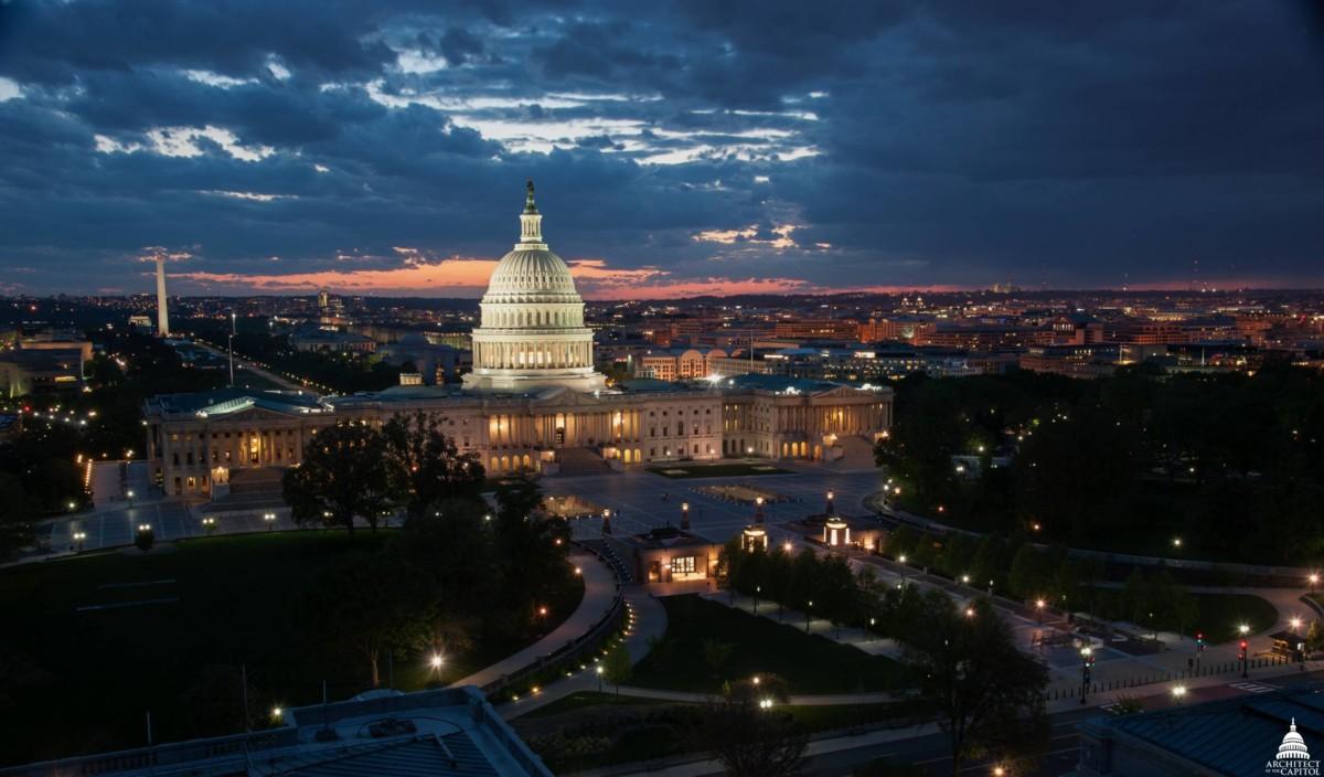 Le Congrès américain à Washington, qui a ouvert une enquête en antitrust contre quatre géants du numérique.