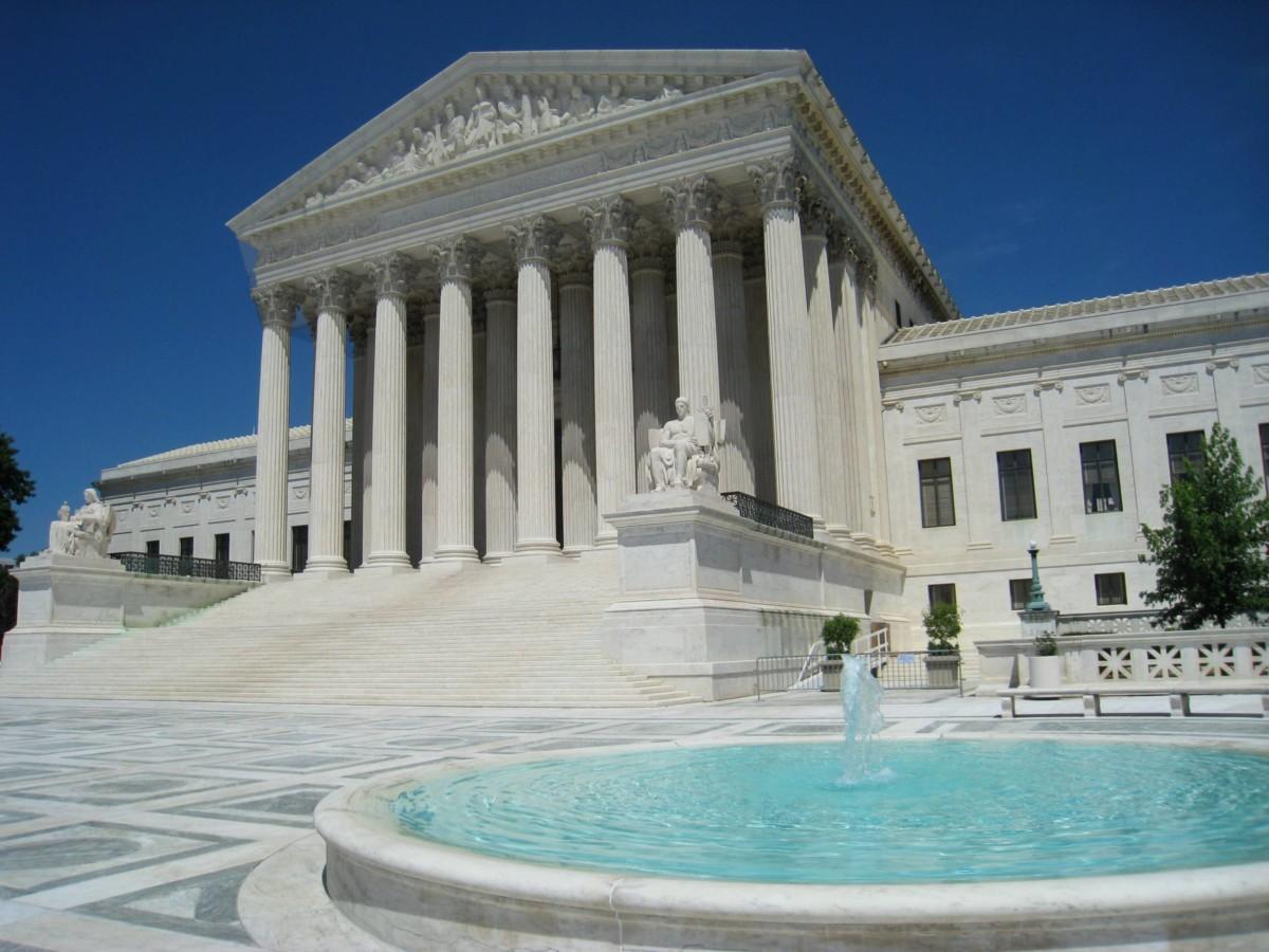 La Cour Suprême des États-Unis à Washington.
