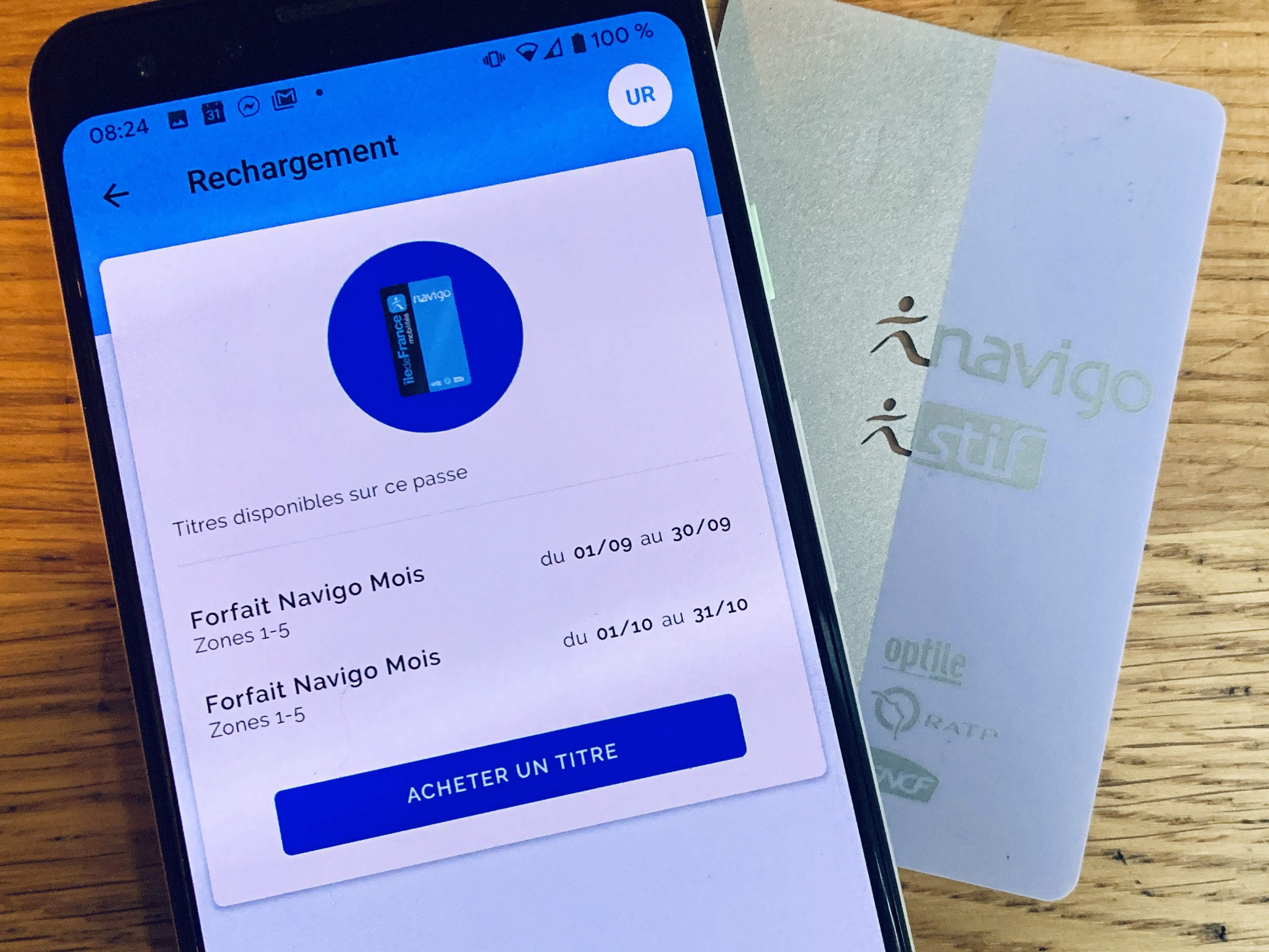Comment Recharger Son Passe Navigo Depuis Son Smartphone