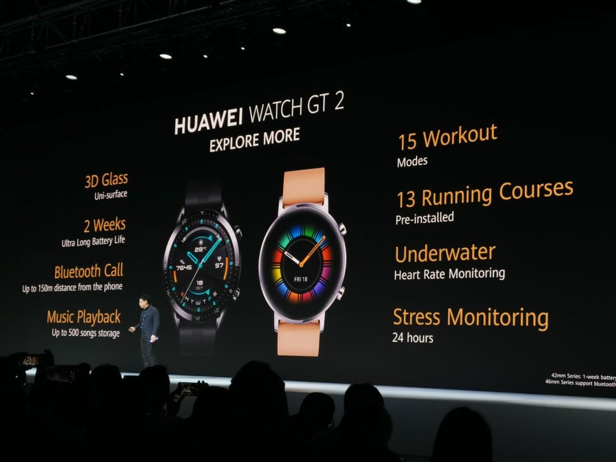Voici tout ce qui a été annoncé par Huawei : Mate 30, Mate 30 Pro, Watch GT 2, Huawei Vision…