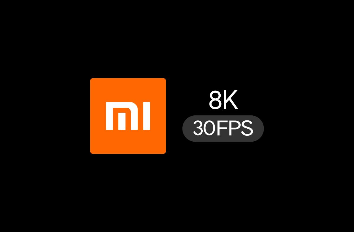 Mais Ou Sont Passé Les Tuyaux xiaomi : un smartphone capable de filmer en 8k à 30 fps