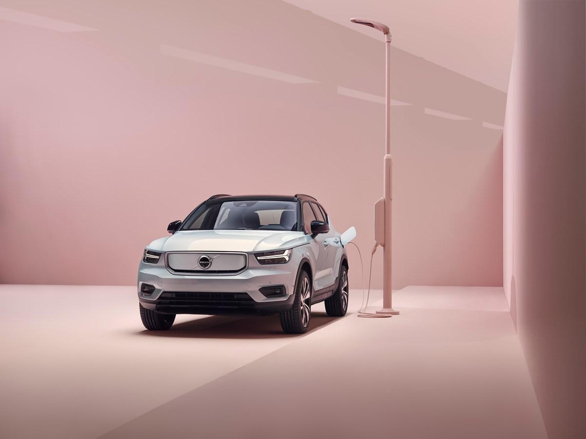Volvo dévoile son XC40 Recharge 100% électrique