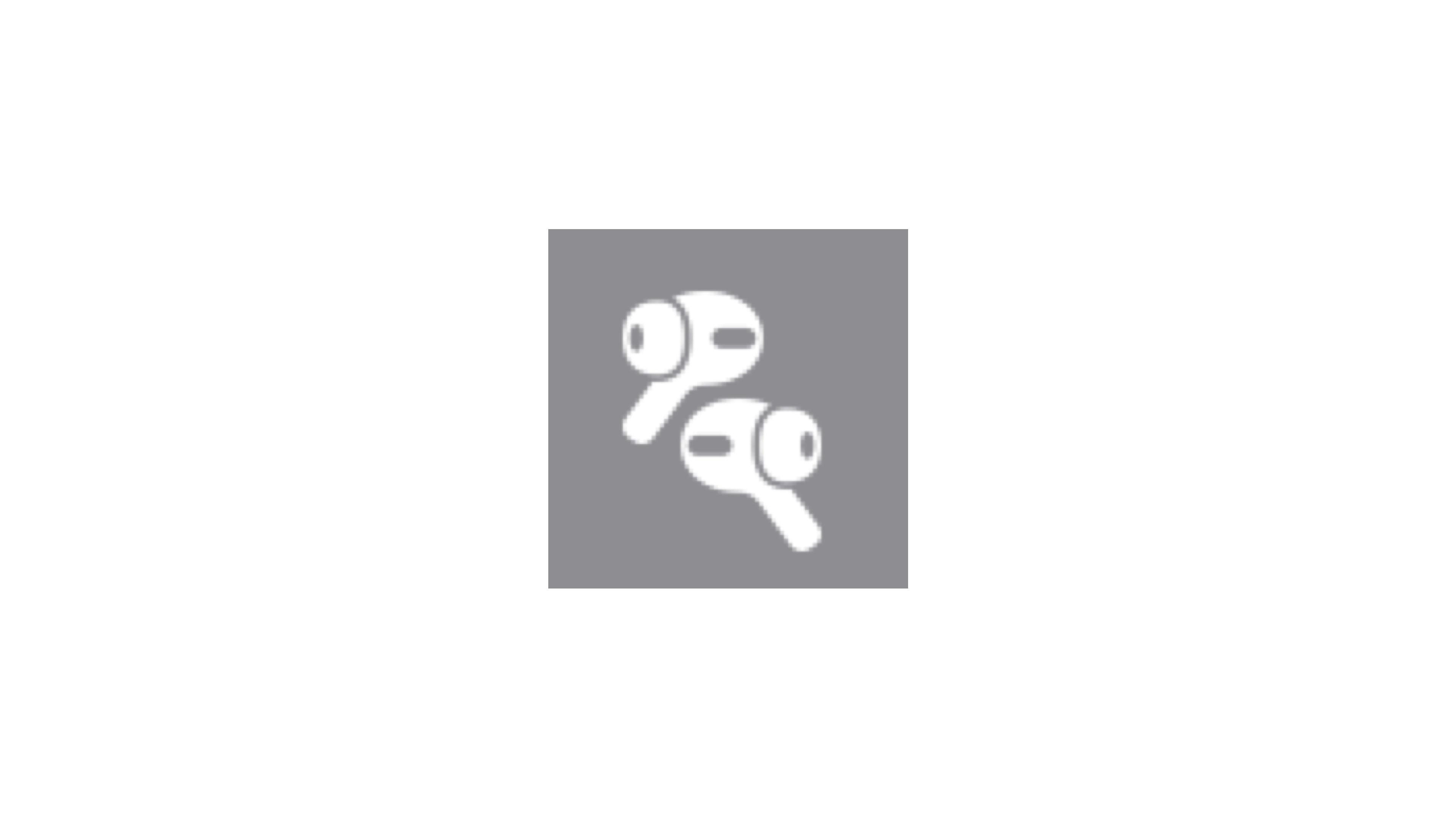 L'icône des AirPods3. Crédit9To5Mac