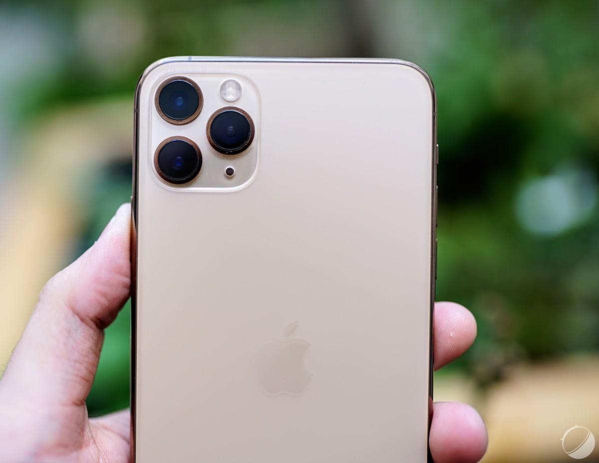 Le module photo de l'iPhone 11 Pro Max est particulier