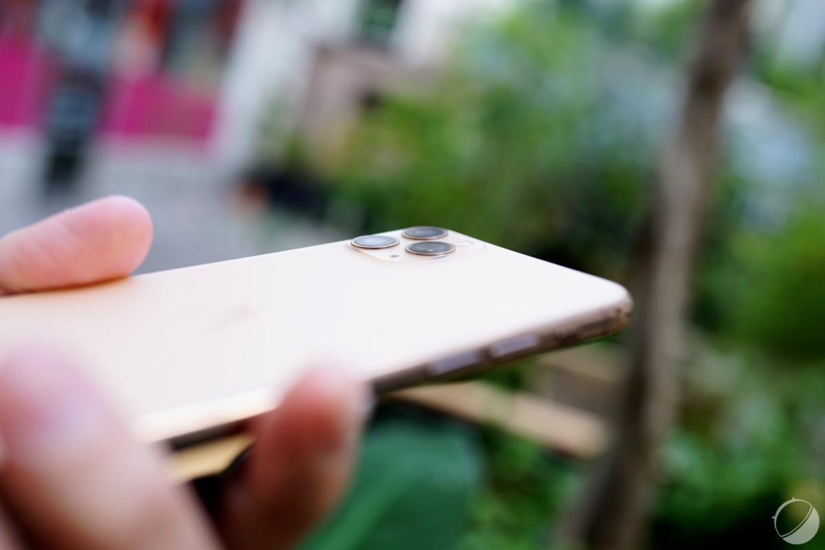 Module photo de l'iPhone 11 Pro Max