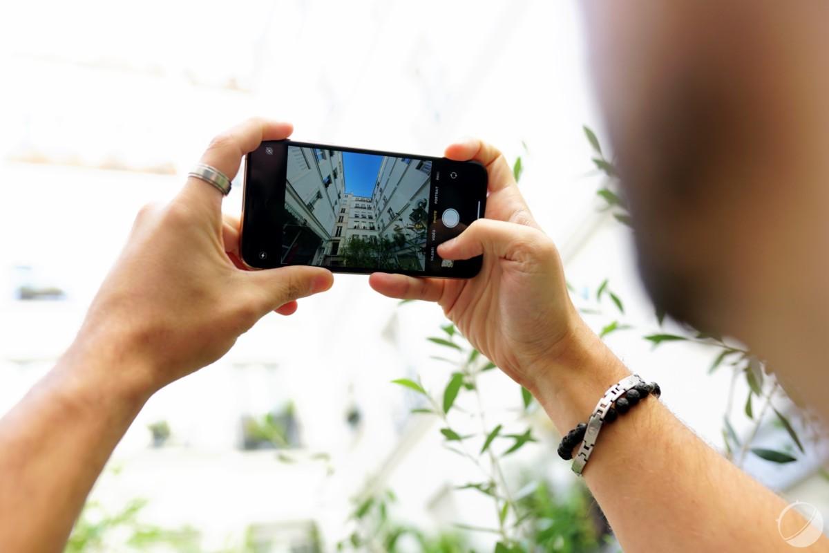 Le mode ultra grand-angle sur l'iPhone 11 Pro Max