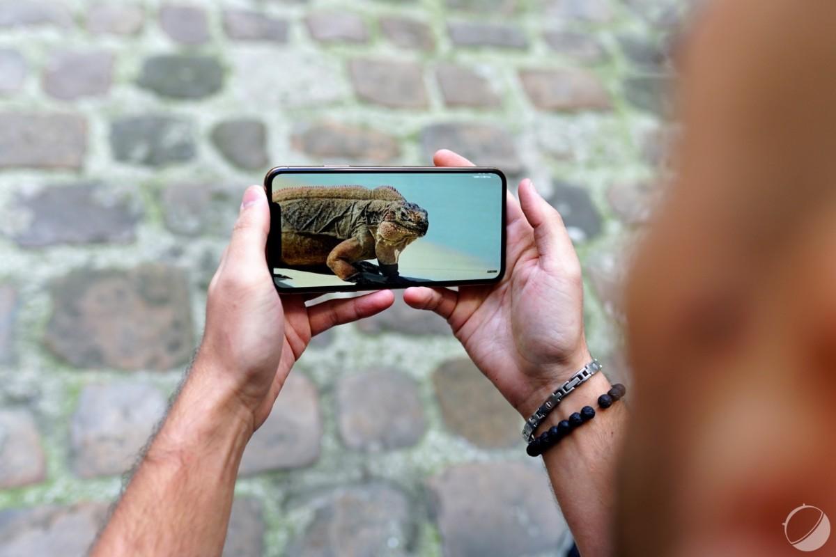 Encoche de l'iPhone 11 Pro Max