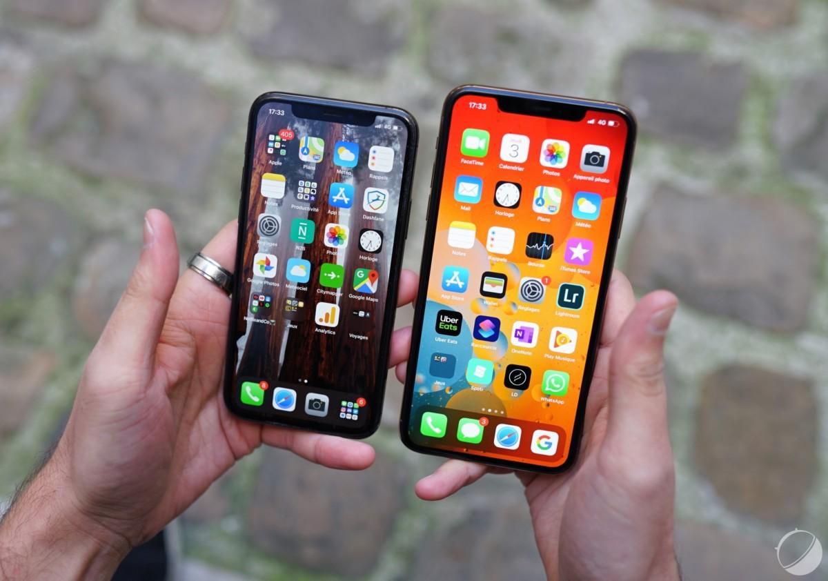 Les iPhone 11 Pro et 11 Pro Max pour illustration