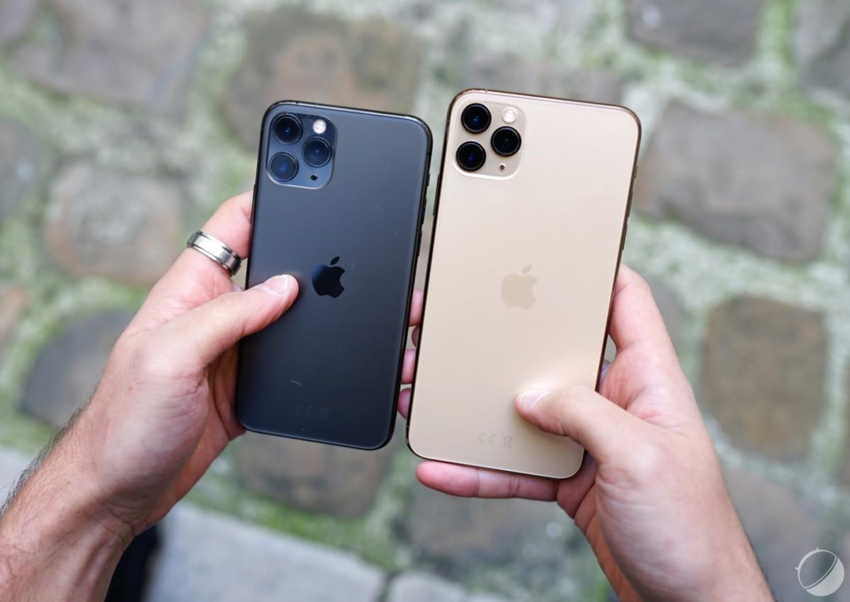iPhone 11 Pro et iPhone 11 Pro Max