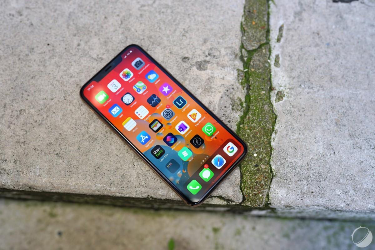 L'interface logicielle de l'iPhone 11 Pro