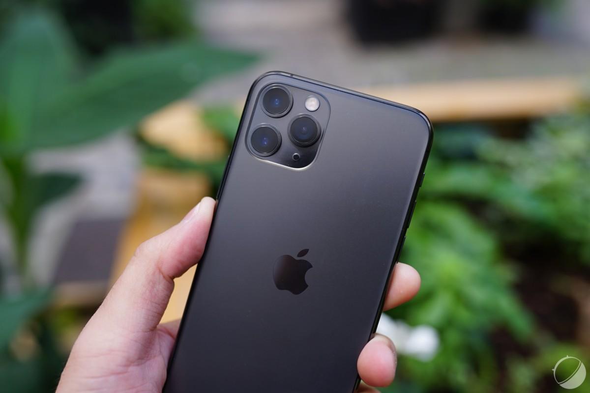Le module photo de l'iPhone11 Pro