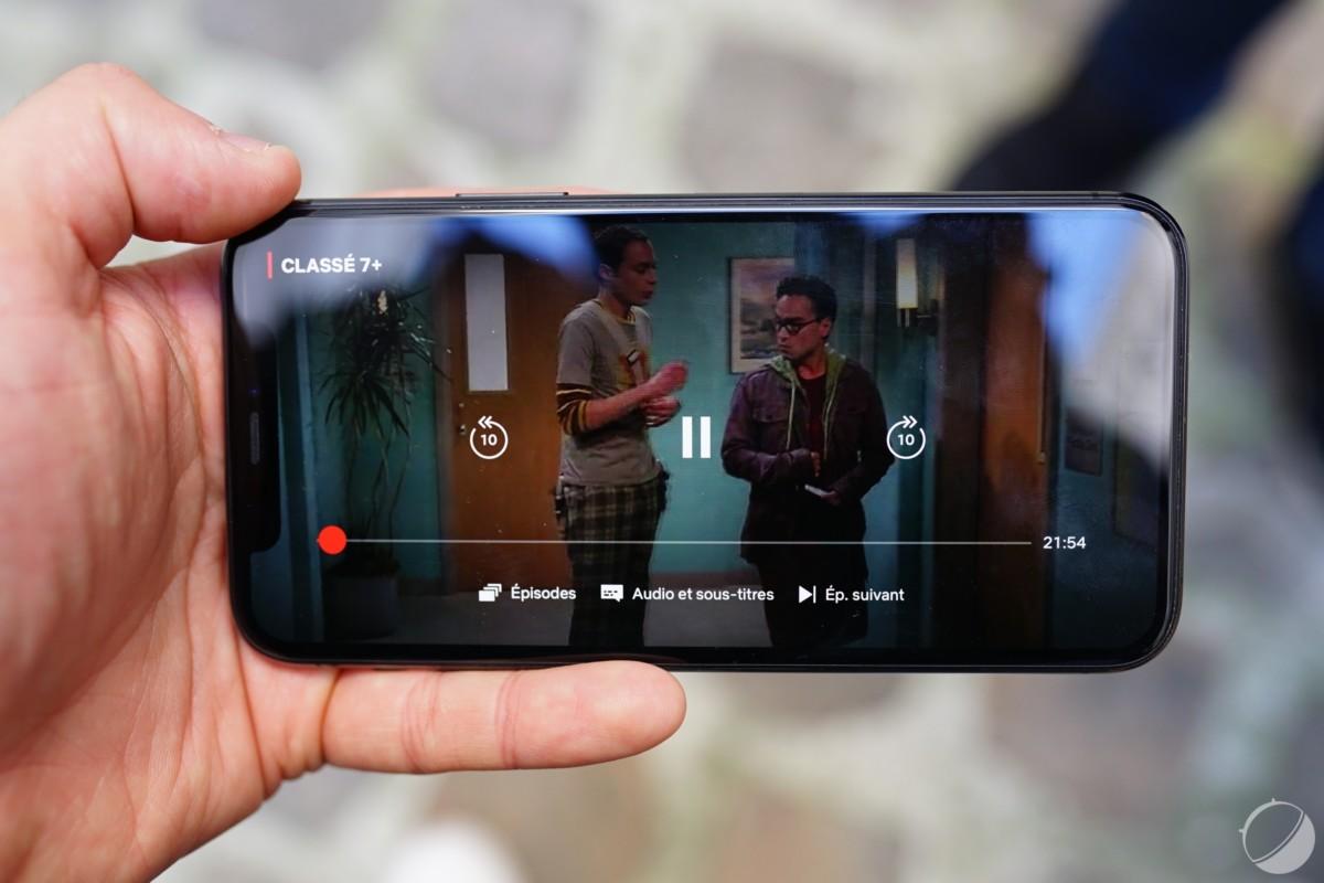 L'écran de l'iPhone 11 Pro