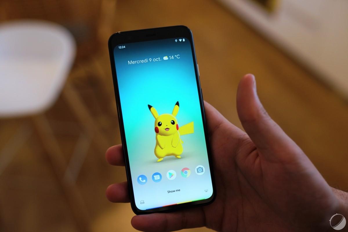Google Pixel 4 XL, fond d'écran Pikachu