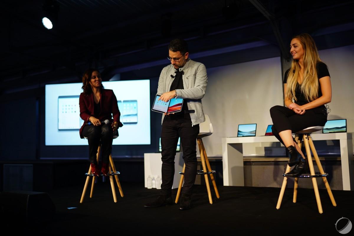 Panos Panay et la Microsoft Surface Neo
