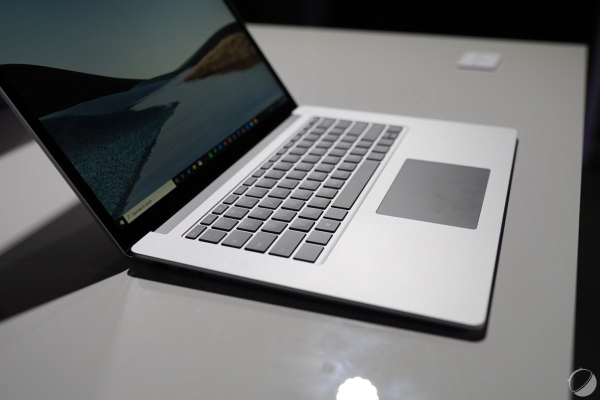 Microsoft veut donner un coup de polish logiciel à ses Surface Laptop 3 sous processeurs AMD