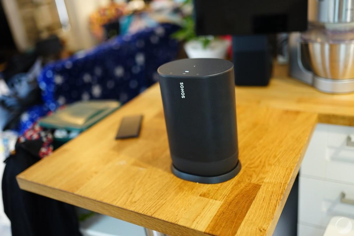 Sonos Move, exemplaire prêté par Sonos