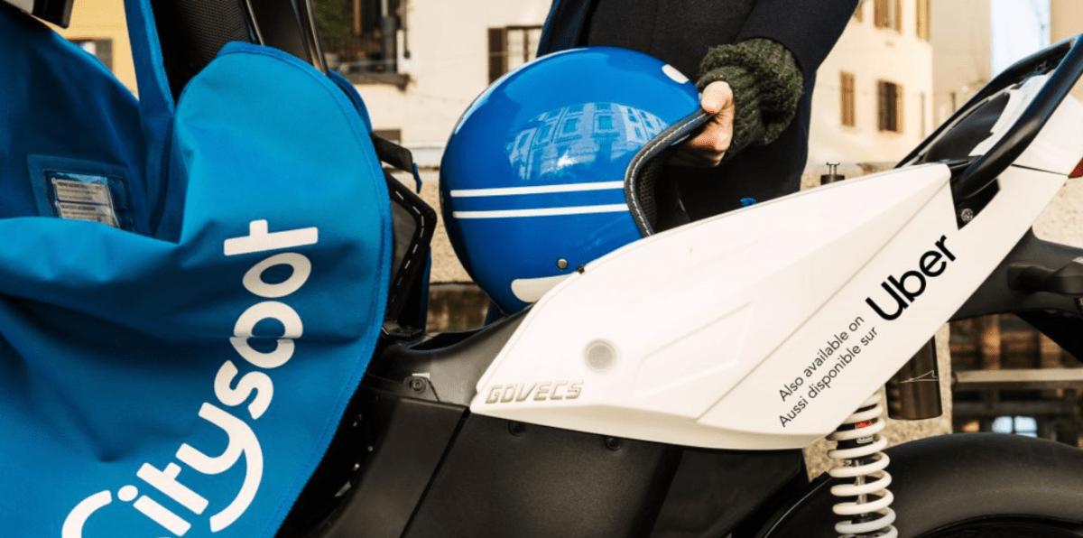 Cityscoot : vous pouvez maintenant réserver sur Uber ses scooters électriques en libre-service