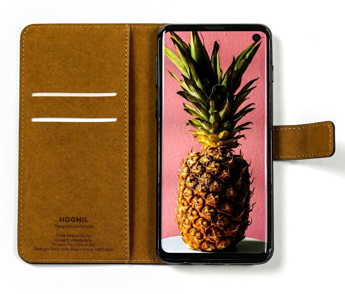 Coque Hoomil portefeuille Galaxy S10