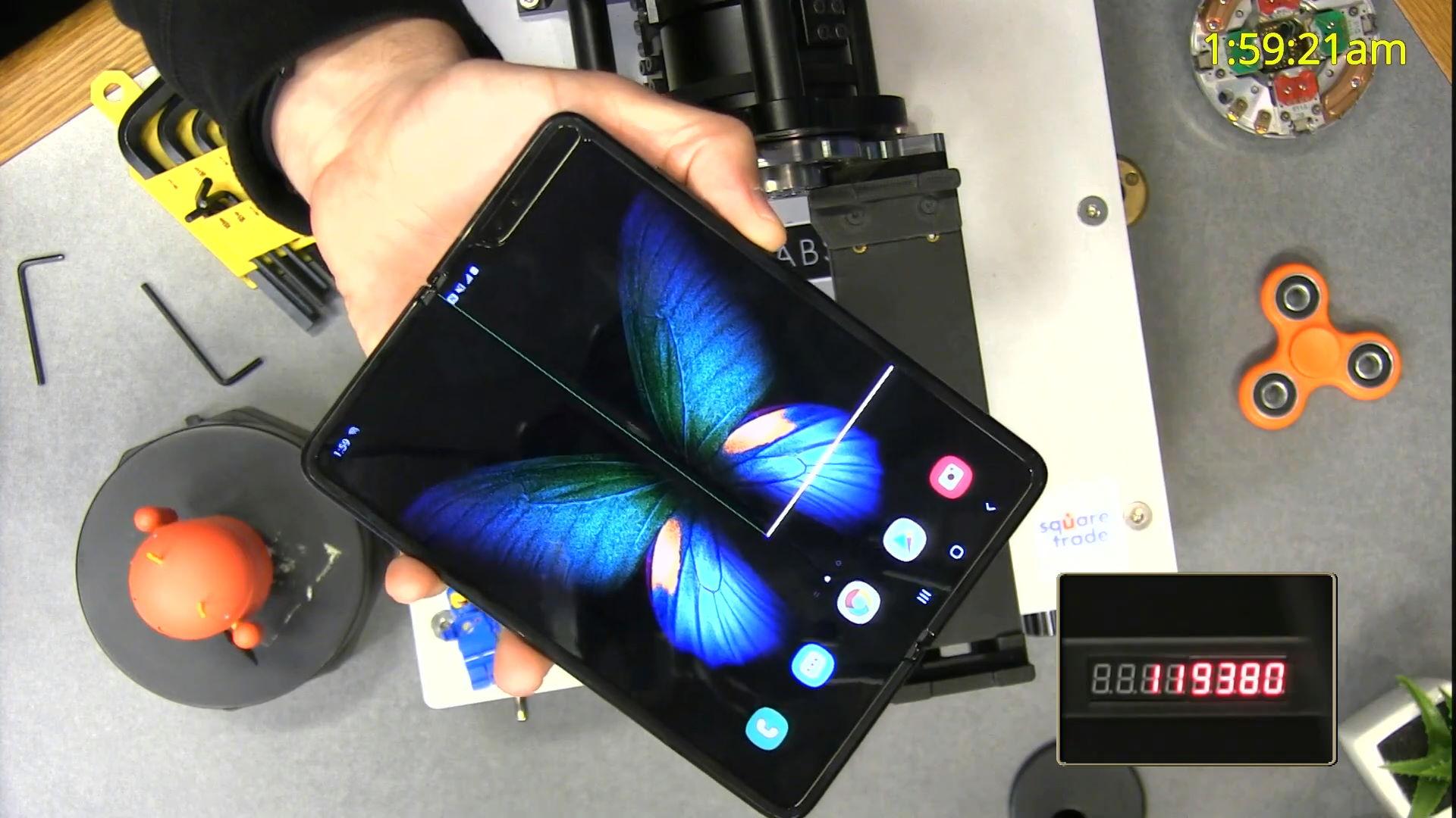 Galaxy Fold: de Nouveaux Problèmes de Samsung, le Pliage de Téléphone?