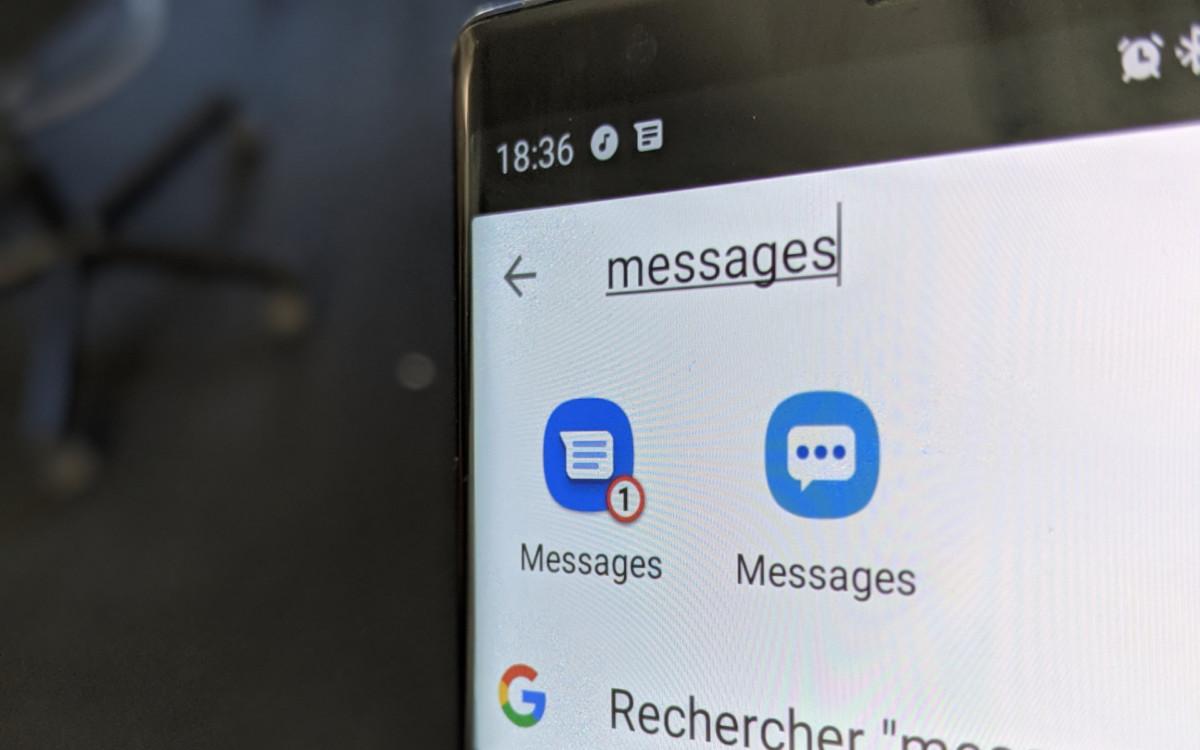 Google Messages et Samsung Messages sont tous deux compatibles avec le RCS